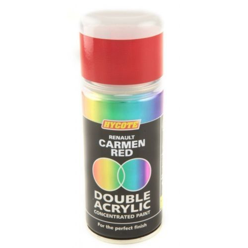 Hycote Renault Carmen Red 150ml Double Acrylic Spray Paint Aerosol - XDRN501