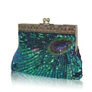 Peacock Clutch Bag