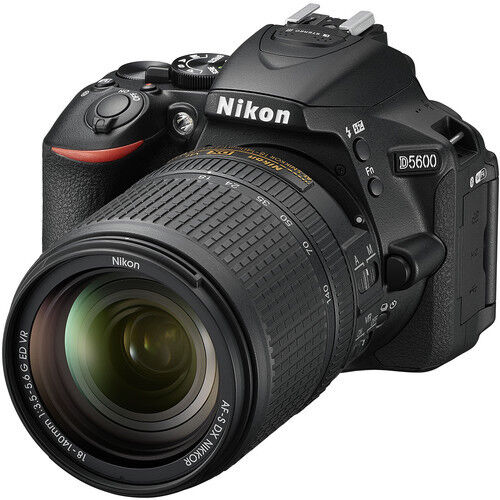 Nikon D5600 DSLR Camera with AF-S DX NIKKOR 18-140mm f/3.5-5.6G ED VR Lens Black 1577