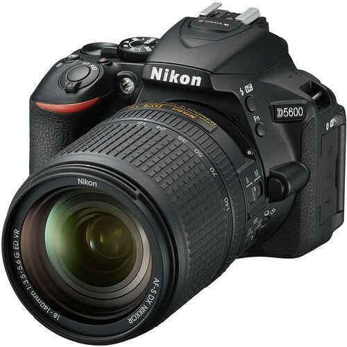 Nikon D5600 DX-format Digital SLR w/ AF-S DX NIKKOR 18-140mm