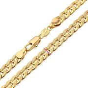 18K Gold Cuban Link Chain