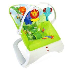 Fisherprice rainforest bouncer chair