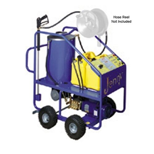 Steam Jenny Oil Fired 1000 PSI at 2.1 GPM Hot Pressure Washer - ELHW-1021-OEP