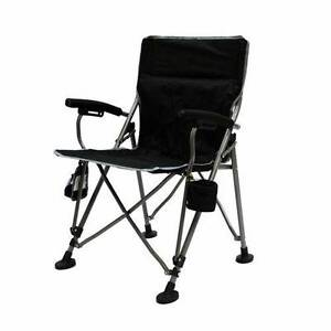 2 VGC His & Her Mac Sports Aviator Folding Armchair w Carry Bag
