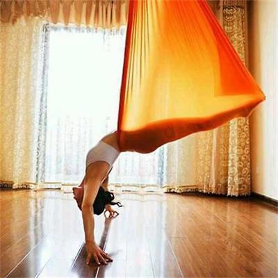 Hänge-Matte Fitness Übungen beharrlich Yoga Swing Schaukel Tuch für Aerial 900kg