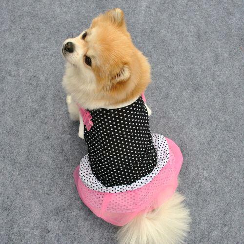 Summer Spring Various Pet Puppy Small Dog Cat Pet Clothes Vest T Shirt Apparel