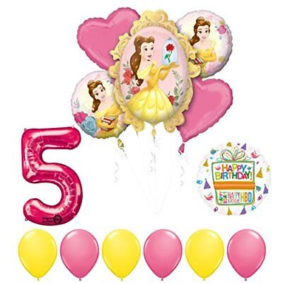 Beauty And The Beast Birthday Supplies (Beauty and The Beast 5th Birthday Party Balloon supplies)