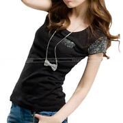 Plain Black T Shirt Women