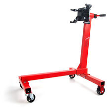 JEGS 80040 Red Engine Stand 1000 lbs Capacity 360 Degree Head Motor Stand