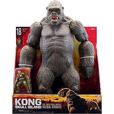 "BRAND NEW Kong Return to Skull Island 18"" Poseable Kong Mega Figure KING KONG"