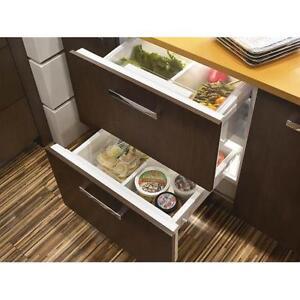 sub zero undercounter panel ready refrigerator freezer. Black Bedroom Furniture Sets. Home Design Ideas