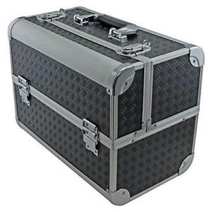 NEW SRA Cases EN-AC-FC-B086-BK Toolbox, Fishing Tackle/Bait Case with Fold Out Trays