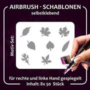 NailArt Airbrush Schablonen Set