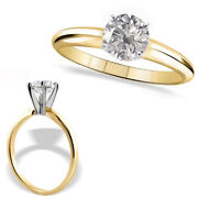 1 Carat Round Diamond Solitaire