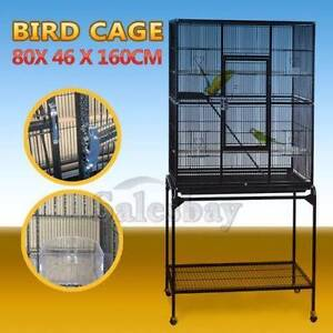 160cm Large Parrot Aviary Budgie Canary Bird Cage Wheels Thomastown Whittlesea Area Preview