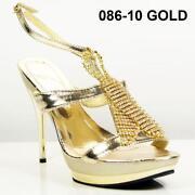 Gold Wedding Sandals