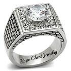 Silver 10 Ring Rings for Men
