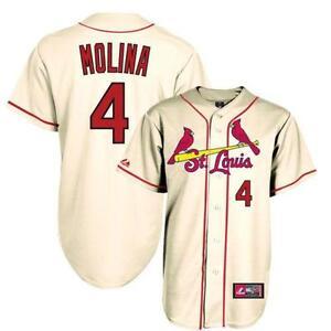 buy popular a858a a99f5 womens st. louis cardinals blank cream jersey