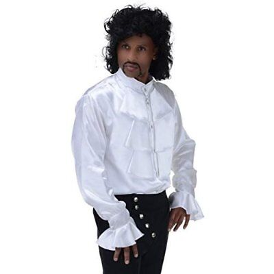 Underwraps Prince Of Pop Star Shirt Musician Singer Mens Halloween Costume 29669 - Musician Prince Halloween Costumes
