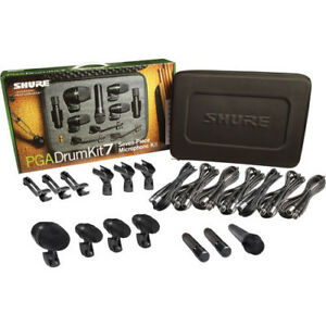 Shure PGADRUMKIT7 Mic Kit with 7 Microphones