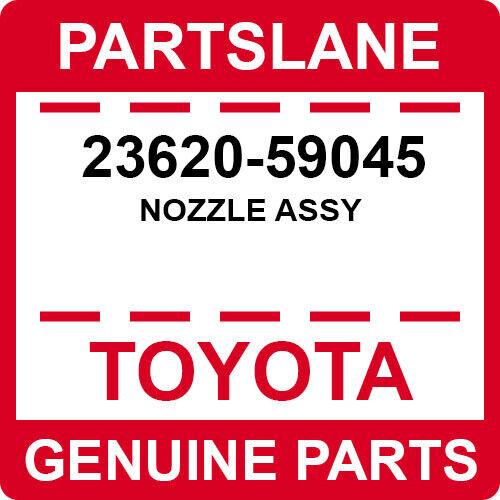23620-59045 Toyota Oem Genuine Nozzle Assy