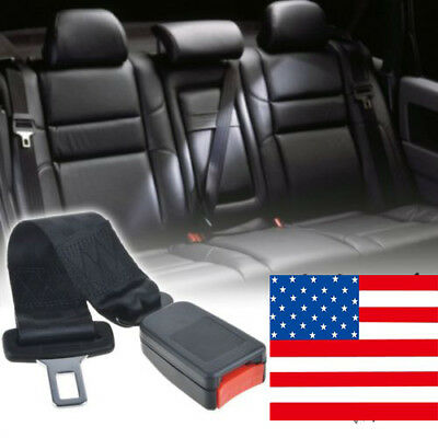 "Universal 14"" Car Auto Seat Seatbelt Safety Belt Extender Extension 7/8"" Buckle"
