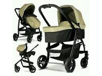 Graco evo sand pushchair 3in1