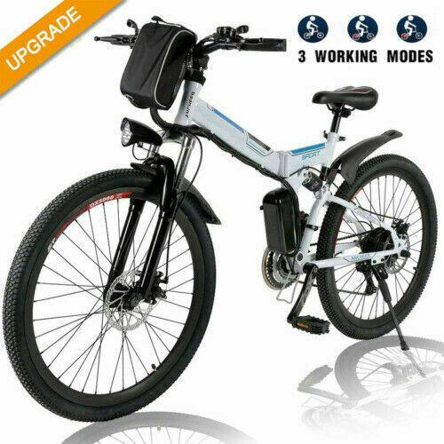 """350W Elektrofahrrad 26""""E-BIKE Damen/Herren Citybike Pedelec 21Gang Unisex 35km"""