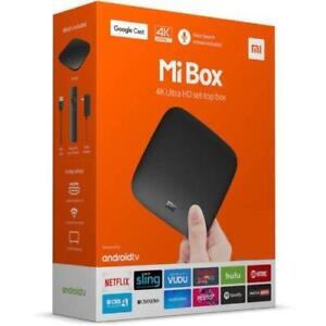 Mi Box S with 4K Ultra HDR Set-Top Box Android TV 8.1 Global Version MDZ-22-AB