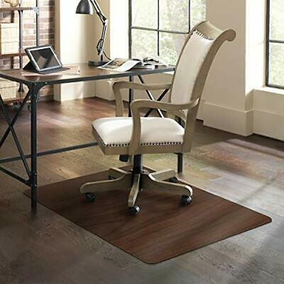 Es Robbins Trendsetter Hard Floor Chair Mat Dark Cherry Woodgrain