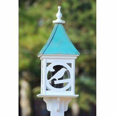 Fancy Feeder - FANCY HOME PRODUCTS SQUARE BIRD FEEDER PATINA COPPER 12