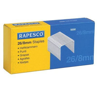 RAPESCO NO.18 (26/8) STAPLES Pack of 5000**GREAT PRICE**