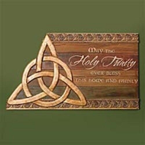 Trinity Knot Garden Stone NEW,  from Abbey Press SKU 55259T