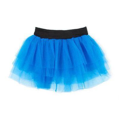 Claire's Junior Ladies Blue Tutu Skirt Ballerina Dance Class Size XL Halloween  (Blue Tutu Halloween)