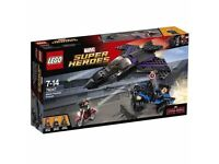 LEGO Super Heroes 76047 Captain America Civil War Black Panther Pursuit Playset: Brand new