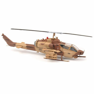 IXO 1/72 Armed Helicopter Aircraft Model US Army Super Cobra Plane Toy AH-1W