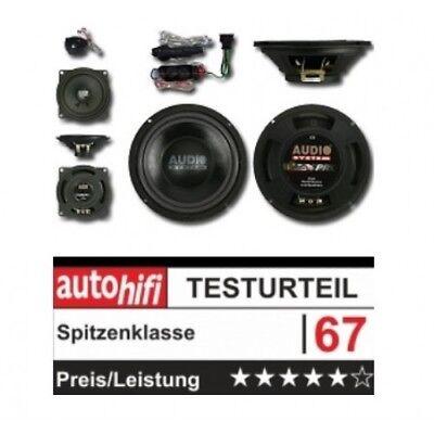 Audio System X 200 GOLF V X-Series 3-Wege Spezial Front System 200mm...