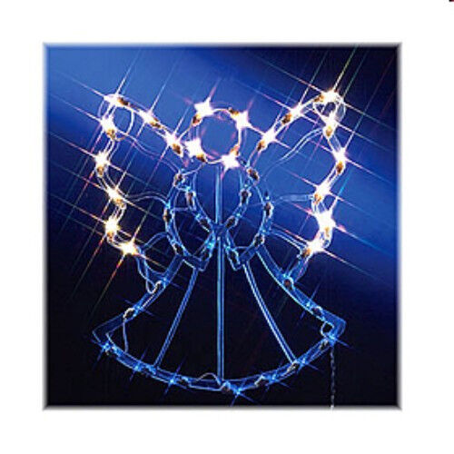 Christmas Advent Easter Indoor Outdoor Angel Silhouette Decoration