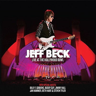 JEFF BECK LIVE AT THE HOLLYWOOD BOWL 3 X 180 GRAM VINYL LP ALBUM (2018)