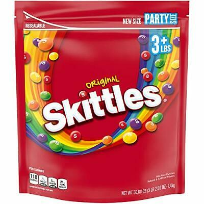 Skittles Original Fruity Candy Party Size Bag 50 oz
