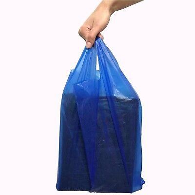 1000 x Blue Vest Carrier bags 11