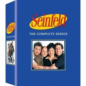 NEW! Seinfeld: The Complete Series Box Set (DVD, 33-Disc Set)