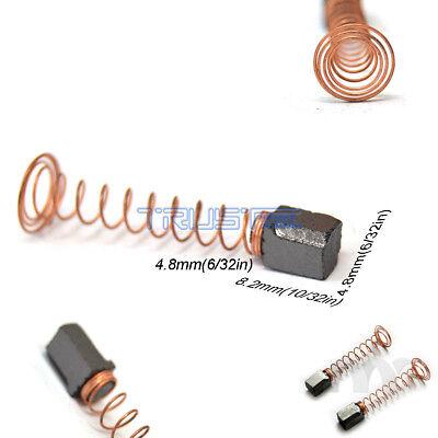 4 Carbon Brushes Dremel 90827 Rotary Multi Tool 270 280 370 380 4.8x4.8 X8.2mm