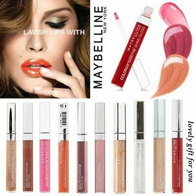 Maybelline Color Sensational Cream/Shine Lip Gloss Lipstick Lipgloss Lipshiner