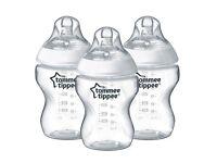 Brand new Tommee tippee bottles