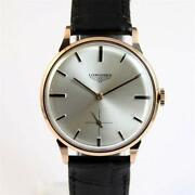 Longines Solid Gold Watch