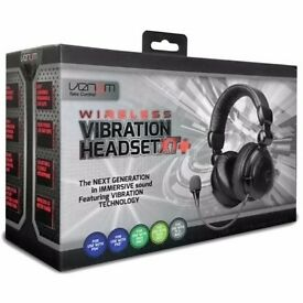 Venom Wireless Vibration Headset XT+ (PS3/PS4/Xbox 360 Slim/Xbox One