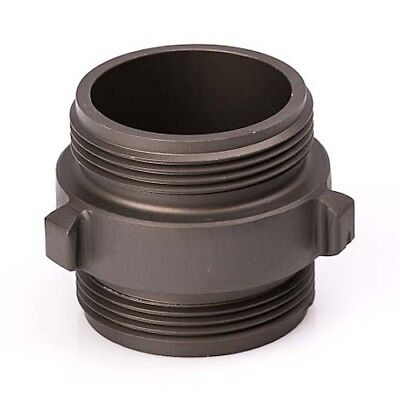 Aluminum 2 12 Nh To 2 12 Nh Double Male Fire Hose Adapter
