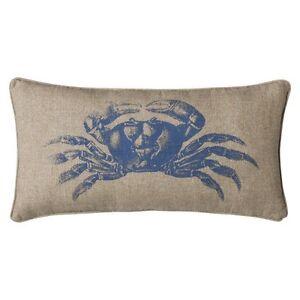 Target Coastal Throw Pillows : Homthreads Coastal Crab Decorative Pillow eBay