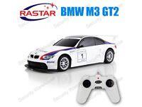 BMW M3 GT2 RADIO Remote CONTROL Contolled RC Racing Touring CAR 1:24 NEW Rastar